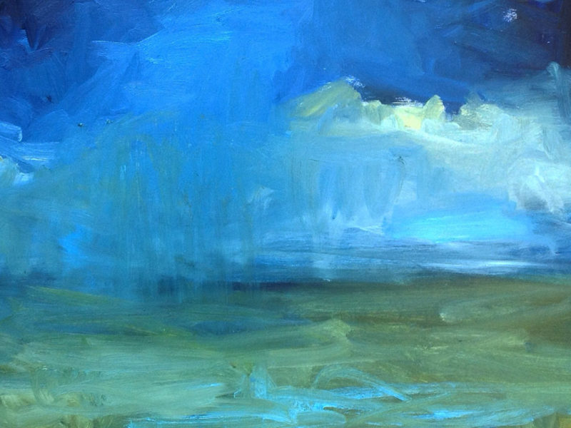 Slideshow image by Carol Finkbeiner Thomas - abstract landscape painting