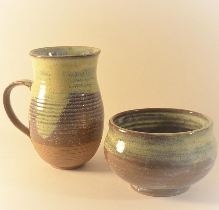 Moynihan, David - hand thrown mug and bowl