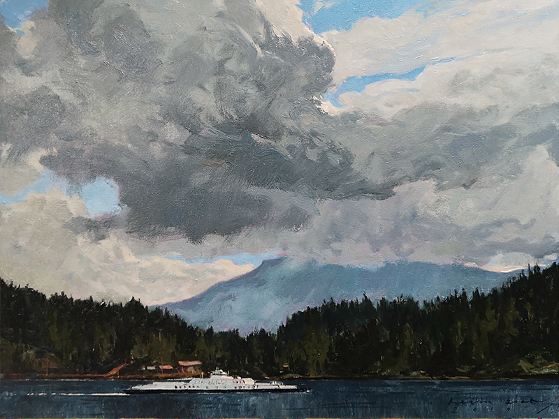 Bice, Kevin - painting of the Nanaimo Ferry