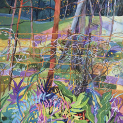 Garrington, Susan - painting of a garden